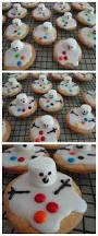christmas food ideas melted snowman biscuits christmas party