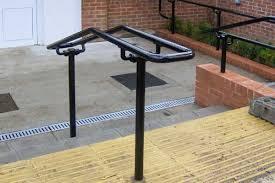Handrail For Two Steps Ada Railings And Handrails Osha Compliant