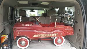 jeep fire truck gearbox pedal car volunteer fire truck no 1 collectors weekly