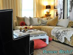 Black White And Gold Living Room by Renew Redo Gold Silver Black White And Pink Living Room