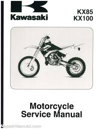 pdf kawasaki kx 85 manual 28 pages kawasaki kx85 ii