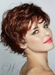 haircut for wispy hair graceful short feathered pixie haircut with wispy bangs synthetic