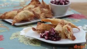 allrecipes thanksgiving turkey recipes make wontons with thanksgiving leftovers youtube