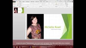 Word 2007 Cover Page Templates by Creating Your Cover Page Using Powerpoint Youtube