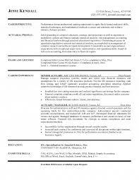 Insurance Resume Examples by Resume