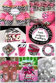 zebra baby shower zebra themed baby shower ideas