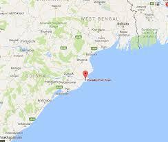 Texas Beaches Map Paradip Port Insights