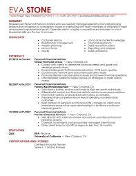 Best Financial Analyst Resume by Download Finance Resume Haadyaooverbayresort Com
