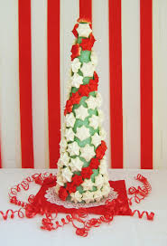 brainy buns meringue christmas tree