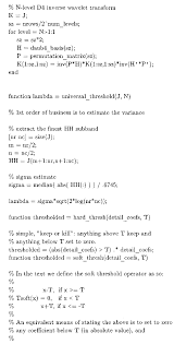 wavelet demising image processing part 1