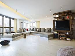 New York Interior Design Living Room Examples With Sleek Modern - New york interior design style