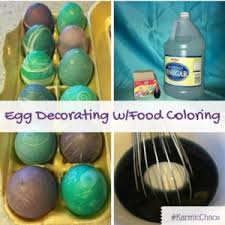 Decorate Easter Eggs With Food Coloring by Easter Egg Decorating With Food Coloring Karmic Chaos