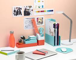 Desk Organizer Lamp Office Colorful Modern Desk Organizer For Fun Cubicle Plus