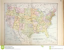Map Of North West Usa by Old Map Of America U0027s Pacific Northwest Stock Photo Image 10297780