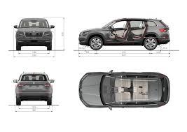 mitsubishi delica 2017 interior skoda kodiaq dimensions 2017 suv length wheelbase height