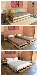 Furniture Bed Design Solid Birch Loop Stacking Bed Be Slumber Party Ready With Our