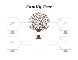 blank family tree template 9 best arboles images on pinterest