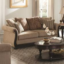 wood trim sofa coaster beasley traditional sofa with rolled arms and wood trim