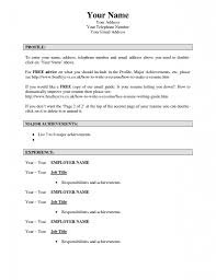 Online Resume Template Free by Make A Free Online Resume Resume For Your Job Application