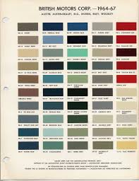 bmc bl paint codes and colors how to library the morris minor