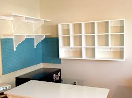 Organize A Craft Room - craft room organization and storage cubby shelves pegboard and more