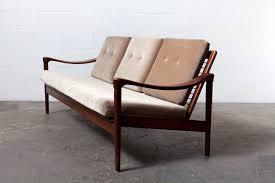 mid century modern danish teak organic sofa set amsterdam modern