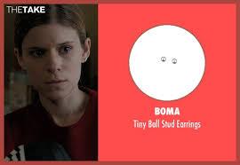 boma earrings kate mara boma tiny stud earrings from captive thetake