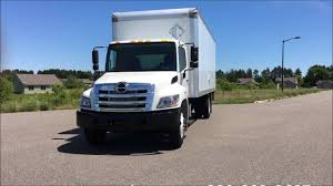 kenworth box truck hino 338 morgan van box truck for sale by carco youtube