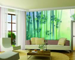 interior home with bamboo wall mural home design image gallery of interior home with bamboo wall mural