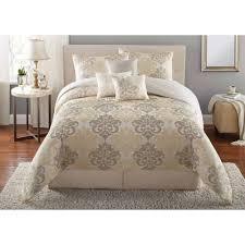 Black And Beige Comforter Sets Emojipals Bed In A Bag Bedding Set Online Only Walmart Also Queen