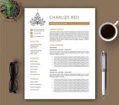 63 best cv resume images on pinterest cover letter template