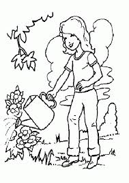 coloring pages plants coloring