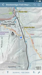 1 8 Maps Breckenridge Singletrack Maps