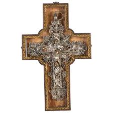 wooden crosses for sale 18th century silver cross filigree for sale at 1stdibs