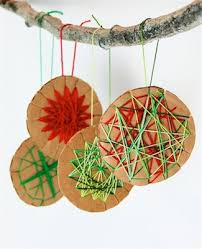 cardboard ornaments seriously these so easy