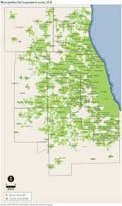 Chicago Heights Map by Cmap 2010 Municipal Plans Programs And Operations Survey