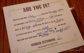 wedding rsvps our diy mad libs style wedding rsvp invitiation card a