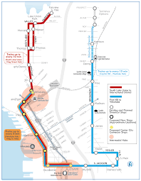 Seattle Map Downtown by City Hall Grapples With How To Pay For Downtown Streetcar Linking