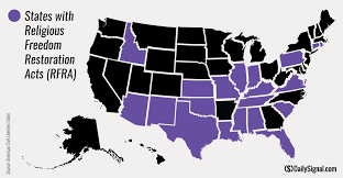 Religion Map Usa by These 19 States Have Religious Freedom Laws Similar To Indiana U0027s
