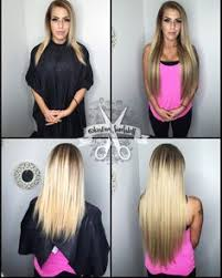 bombshell hair extensions brown to ash ombré hair color hair by jobe