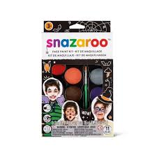 amazon com snazaroo face paint palette kit halloween