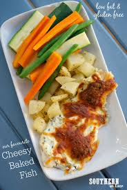 Healthy Fish Dinner Ideas Southern In Law Recipe Our Favourite Cheesy Baked Fish Gluten