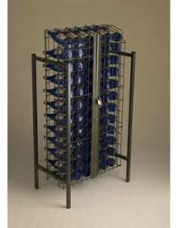 locking wine display cabinet 3 case point of purchase wine display point of purchase display