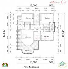 Free Sample Floor Plans House Plan Architecture Kerala Double Storied House Plan And