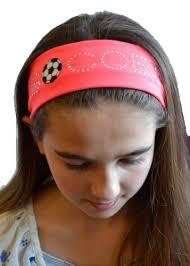 soccer headbands soccer rhinestone cotton stretch headband gi http