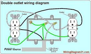 wire outlets outlet switch light wiring diagram fresh how an