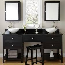 Vanity Fair Bra 75371 Double Bathroom Vanity With Makeup Station Home Vanity Decoration