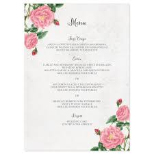 wedding reception programs exles wedding menus sles tolg jcmanagement co
