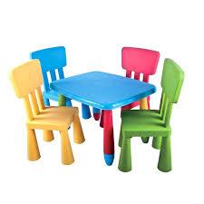 table chaise plastique enfant table chaise pour enfant table chaise