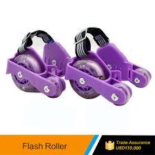 roller skates with flashing lights flashing roller skate with led lights 4 wheel retractable roller